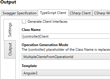 NSwag Tutorial: Generate an Angular TypeScript client from an