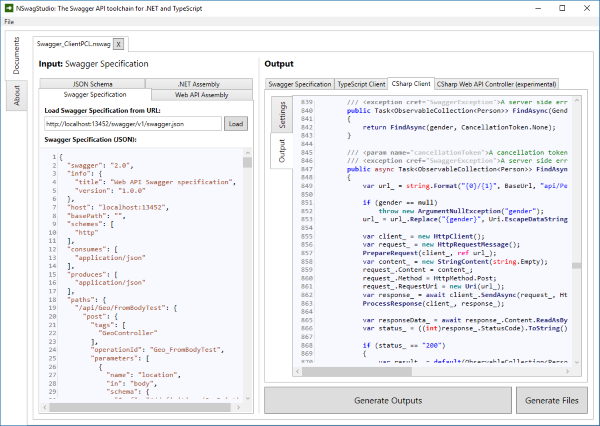 NSwag Tutorial: Integrate the NSwag toolchain into your ASP NET Web